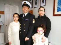 Am Kap Hoorn, Chile: Adán Otaiza mit seiner Familie in Chile