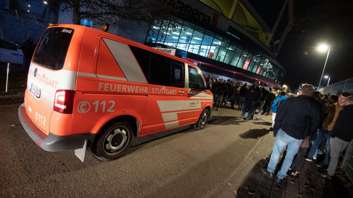 """Hallenräumung in Stuttgart: """"Wurst-Case-Szenario"""""""