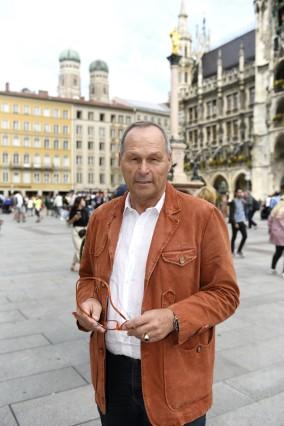 Hans-Peter Mehling in München, 2019
