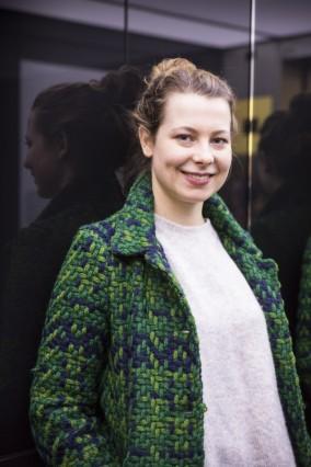 München: Stellvertretende Bundesvorsitzende Jamila Schäfer, Bündnis 90 / Die Grünen. Als europäische und internationale Koordinatorin Mitglied im Bundesvorstand.