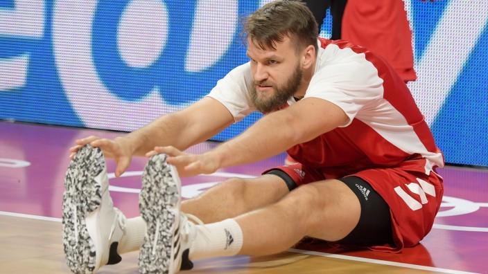17.11.2019, xemx, Basketball BBL, FC Bayern Muenchen - medi Bayreuth emspor, v.l. Danilo Barthel (FC Bayern Basketball); Basketball