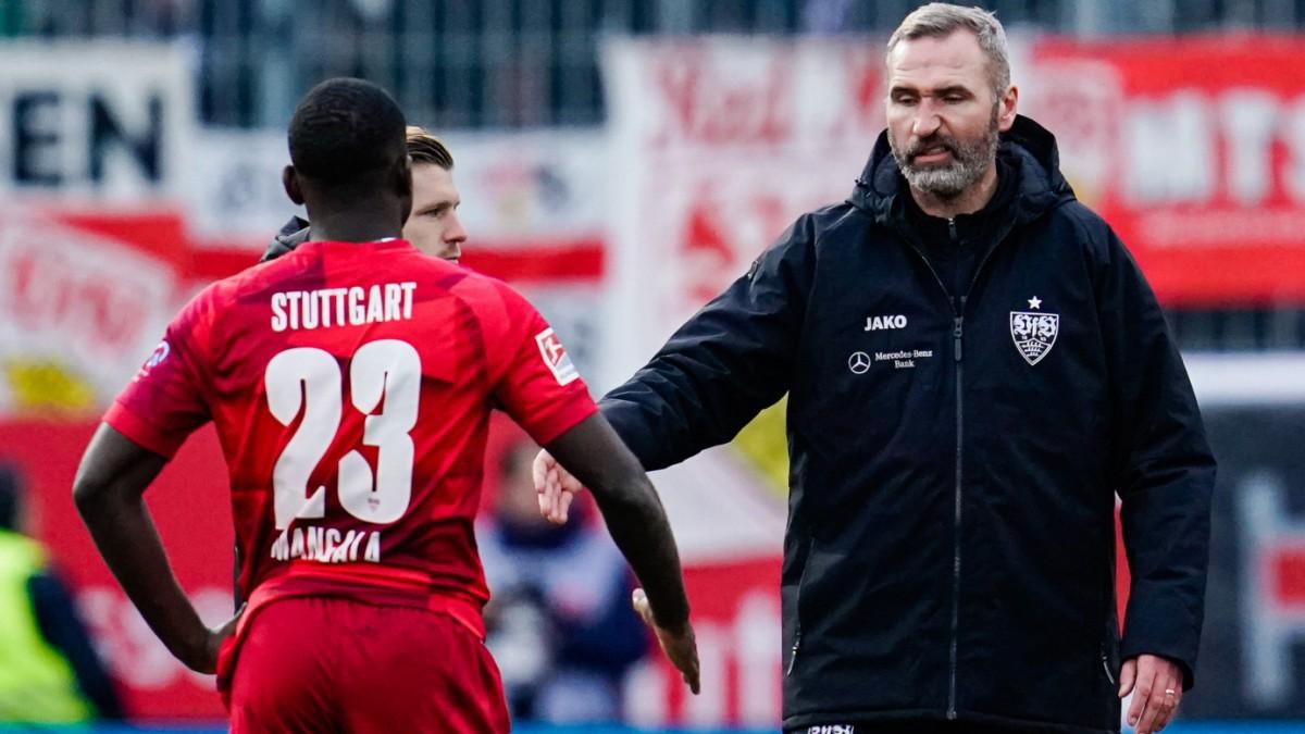 2. Bundesliga: Tim Walter mit Problemen beim VfB