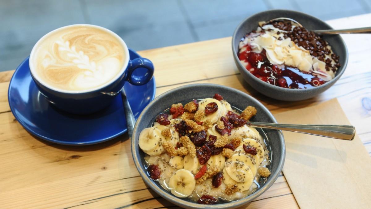 Haferkater in München: Haferschleim zum Frühstück