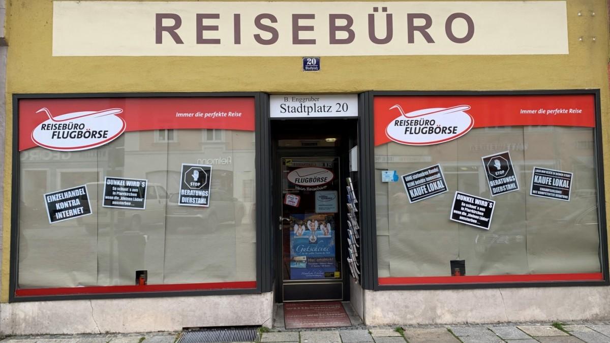 Pfarrkirchen: Händler protestieren gegen Onlineshopping