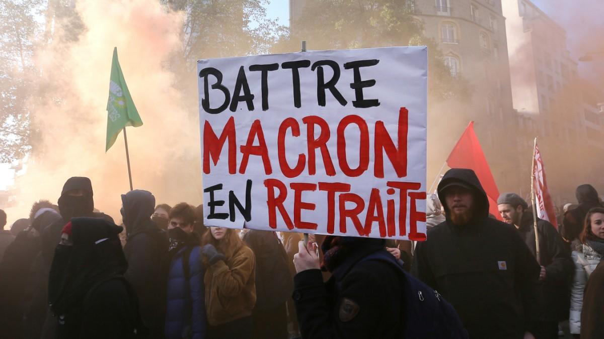 Frankreich: Vereint in der Abneigung gegen Macron