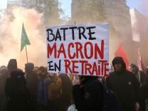 'Generalstreik' in Frankreich