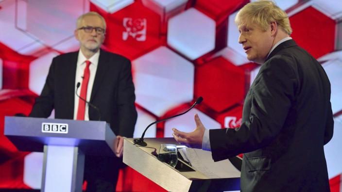 Britischer Premier Boris Johnson lässt politisches Schicksal offen
