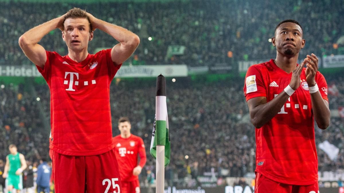 Bayern-Niederlage in Gladbach: Der Frust sitzt tief