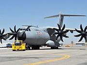 Militär-Transportflugzeug A400M; dpa