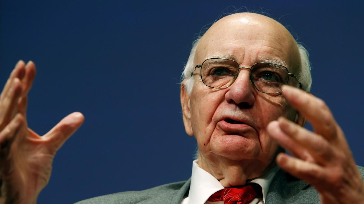 FED: Paul Volcker stirbt im alter von 92 Jahren