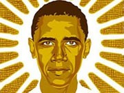 Obama Shepard Fairey Wahlkampfplakat