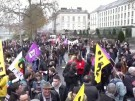 Gewerkschaften protestieren gegen Rentenreform in Frankreich (Vorschaubild)