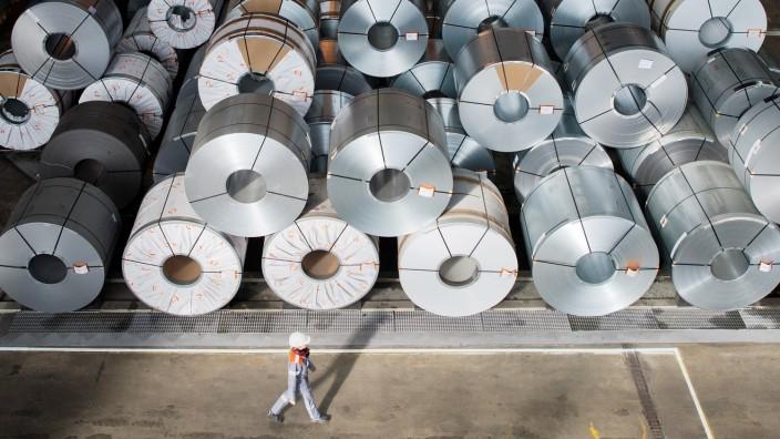 Millionenbussen gegen Stahlhersteller wegen Preisabsprachen