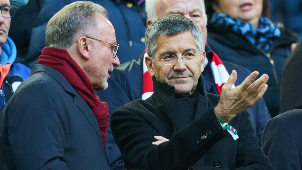 """Bayern-Präsident Hainer: """"Wir stehen zur Bundesliga!"""""""