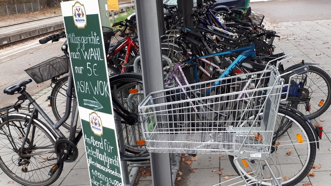 100 000 neue Fahrradparkplätze an Bahnhöfen