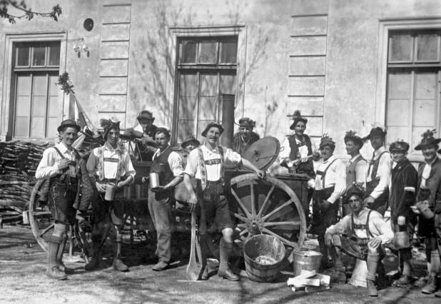"Freikorps-Soldaten des Freikorps ""Werdenfels"" in München, 1919"