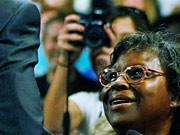 Der Moment der Henrietta Hughes: Krisenbewältigung in den USA, AFP