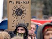Frankreich Demonstration Bildungssystem Reform, afp