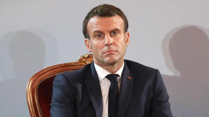 Macron will nach Ende seiner Amtszeit auf Ruhegehalt verzichten