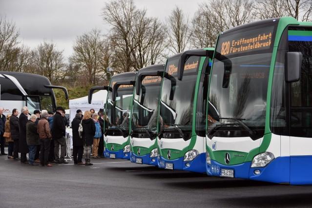 Buslinieneröffnung FFB-STA