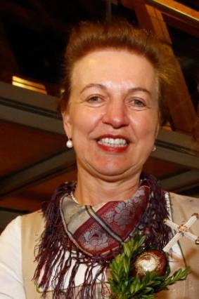 Katrin Lux beim Landfrauentag; Beim Landfrauentag in Andechs