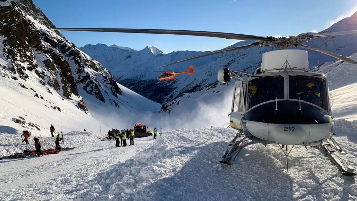 Lawinenunglück : Gefahr mitten im Skigebiet