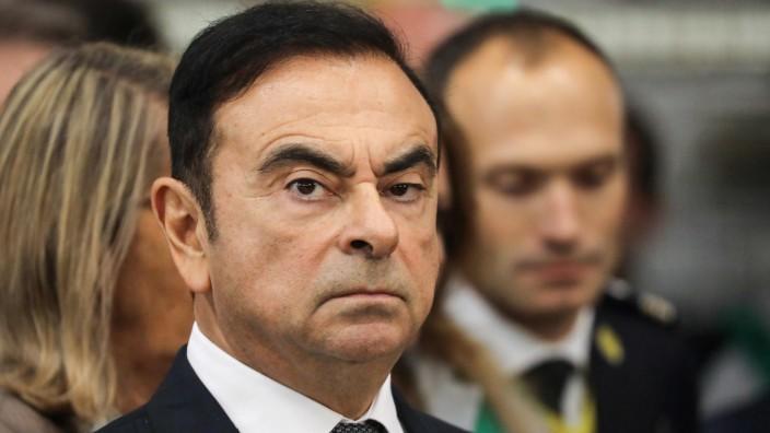 Ex-Renault-Chef Carlos Ghosn überraschend im Libanon gelandet