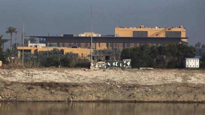 Irak - Geschosse schlagen in Bagdads