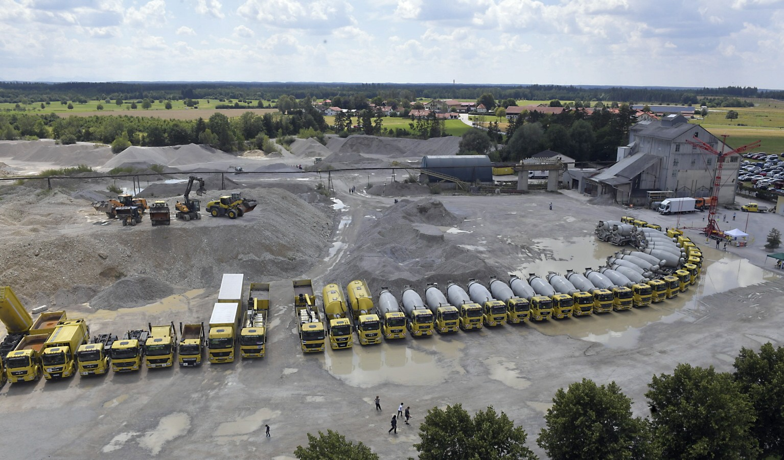 München: Vom Kiesabbau zur Wasserstoff-Technologie