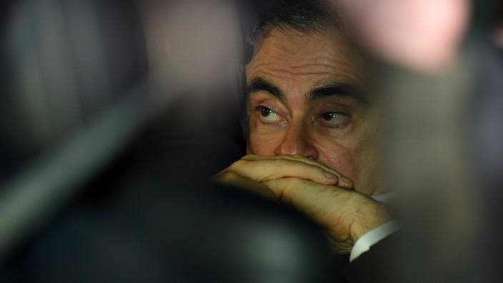 Detailansicht öffnenCarlos Ghosn hat bislang nicht mitgeteilt wie ihm die Flucht gelang- er will sich jedoch am Mittwoch äußern