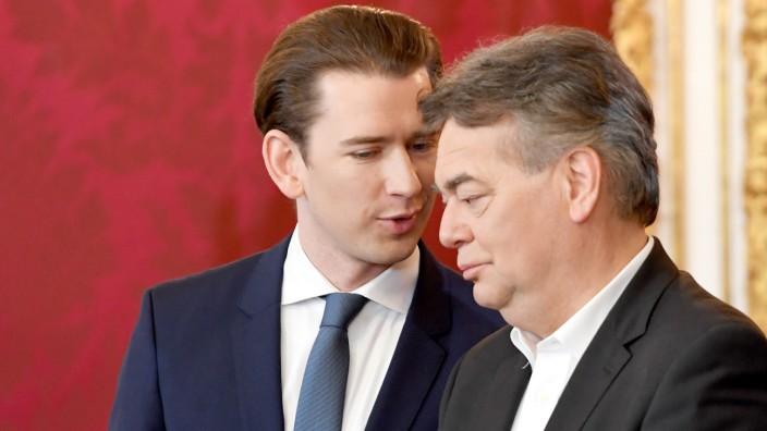 Österreich - Neue Bundesregierung vereidigt - mehr Frauen als Männer