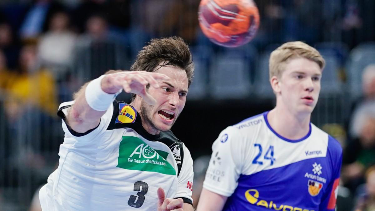 Handball European Championship Germany Against Netherlands