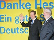 Westerwelle, Hahn, Getty