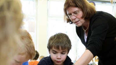 Schule Lehrer und Bildungsqualität