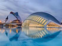 Valencia Spanien Ciudad de Sciencia Städtereise