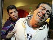 Palästinensischer Arzt trauert um seine Kinder; dpa