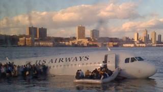 Augenzeugen Berichten Da Ist Ein Flugzeug Im Hudson Verrückt