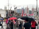 Australier verschnaufen im Regen (Vorschaubild)