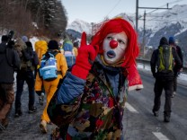 Davos Proteste Fridays for Future