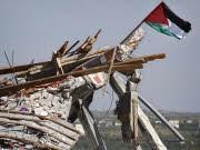 Zerstörtes Gebäude im Gaza-Streifen, AP