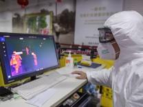 Das Coronavirus ist von China nach Deutschland gelangt.
