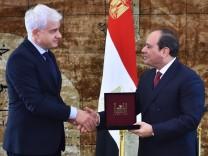Semperopernball zeichnet Ägyptens Staatspräsident Al-Sisi aus