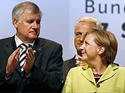 Horst Seehofer, Angela Merkel, dpa