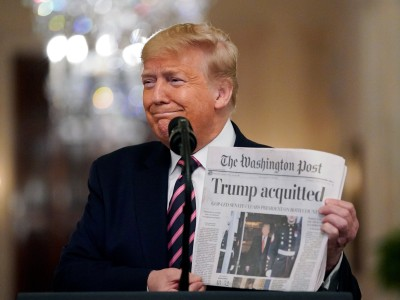 US-Medien: Danke, Dämon Trump