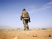 Bundeswehrsoldat in Afghanistan; ddp