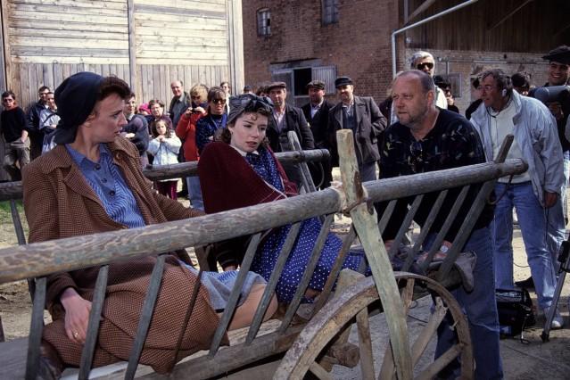 RAMA DAMA BRD 1990 Joseph Vilsmaier Regieanweisungen von JOSEPH VILSMAIER rechts bekommen IVAN