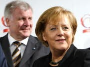 Horst Seehofer, Angela Merkel: Streit um Glos, Getty