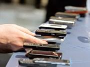 Handys auf der Mobile World in Barcelona, AP