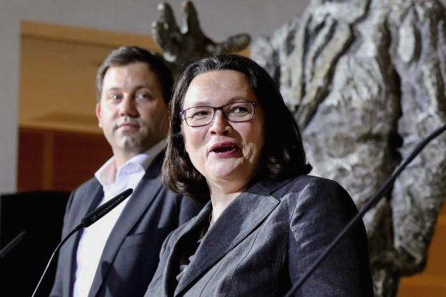 Sitzungen SPD-Präsidium und Parteivorstand