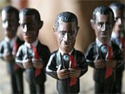 Barack Obama Plastikfigur; AP